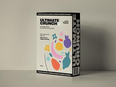 Cereal branding exploration pattern cereal box muesli box design package design packaging logo branding color 2d art typography pastels colorful flat illustration design vector