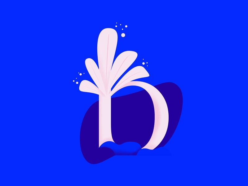 36daysoftype • B 2d art typography lettering cute color affinitydesigner illustrator design illustration vector 36daysoftype-b 36daysoftype 2d