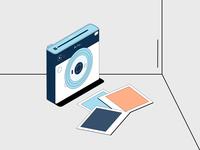 Instax Illustration