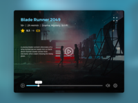 Daily UI #057 – Video Player