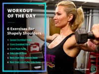 Daily UI #062 – Workout Of The Day