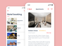 Daily UI #067 – Hotel Booking