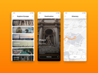 Daily UI #079 – Itinerary