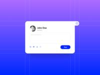 Daily UI #081 – Status Update