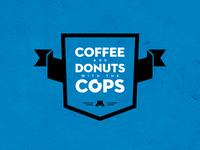 Coffee + Donuts Badge