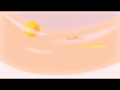 Saving for tomorrow animation texture illustrator vector