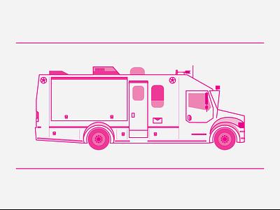 Truck vector process truck mockup illustrator