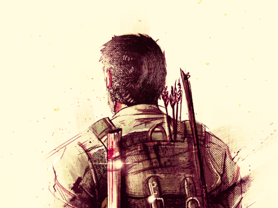 The Last of Us / Fan Art last fan art digital illustration painting game video man teenager