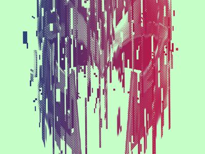 Days of Future Past xmen film comic superhero magneto helmet glitch gradient time poster print