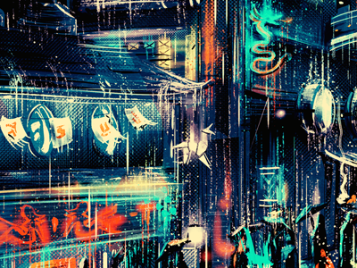 China town x Moments Lost bladerunner blade runner tribute fan art illustration artwork movie classic