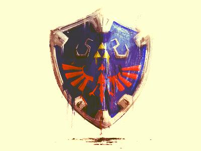 Shield - doodle shield doodle link zelda games