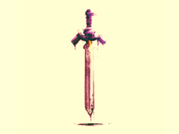 Sword - doodle