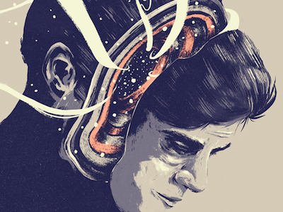Felix  conception illustration freelance felix debut film poster