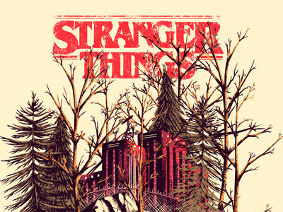 Stranger Things things stranger netflix series tv poster