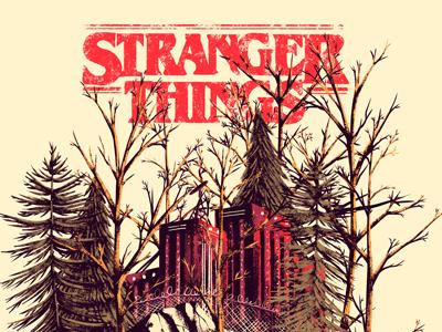 Stranger Things things stranger netflix series tv poster