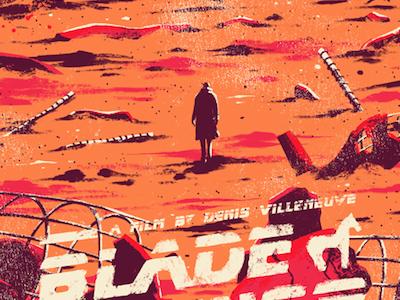 Blade Runner 2049 print poster art fan sci-fi film villeneuve runner blade