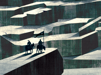 The wall game throne wall fan art environment horses knight horizon sun ice