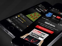 Footy Manager App