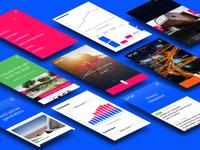 Enel  website - mobile views