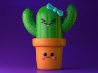 Cactus Kawaii