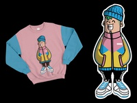 Sticker & Sweater