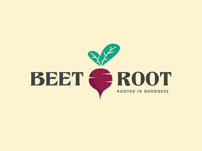 Beet Root Logo beet logo design illustration beet root logo vegetable logo vegetables vegetable design art logo design logotype logos logodesign