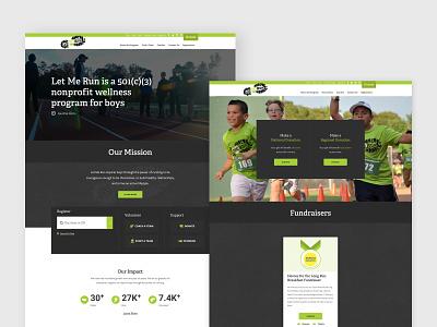 Nonprofit Website charlotte nc layout design donations donation website designer website creator website concept website design nonprofit