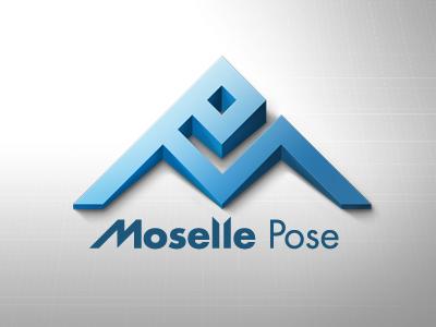 Logo Moselle Pose volume logo logotype