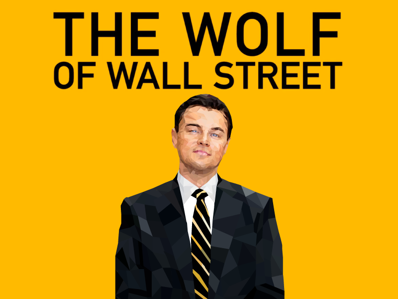 The Wolf of Wall Street by Neelank Sachan | Dribbble ...