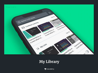 Accessing saved courses on Unacademy