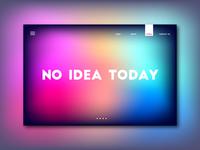No Idea Landing Page