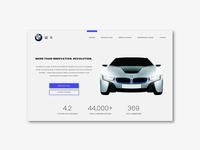 BMW Redesign Landing Page