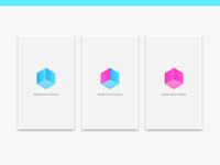 Cubez app logo identity