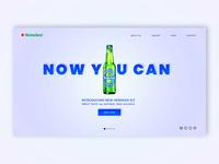 Heineken concept landing page V2