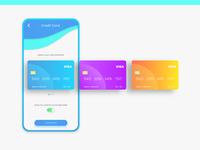 CC select card UI