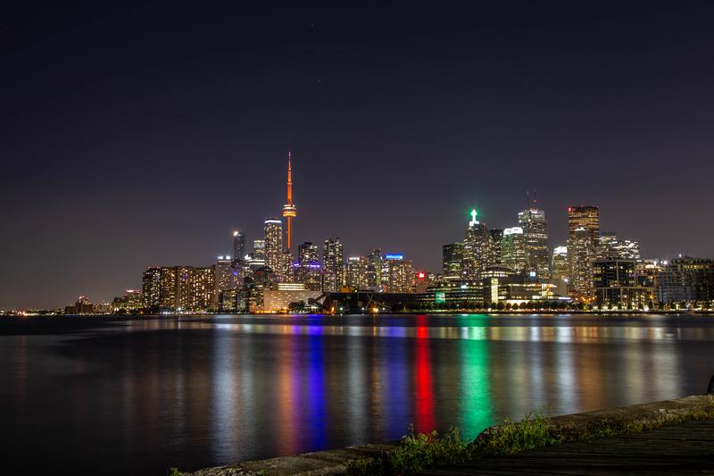 Toronto Skyline at Night cityscape skyline photography photograph