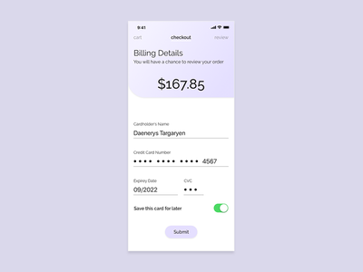 Mobile Credit Card Checkout iphone x sketch ui design mobile 002 dailyui dailyui 002