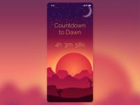 DailyUI Day 014 - Timer vector iphone x design mobile app design sketch adobe illustrator mobile ui design 014 dailyui
