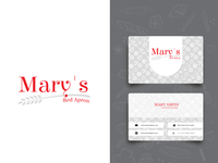 Mary´s Red Apron Logo
