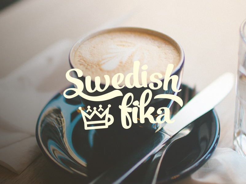 Swedish Fika Logo by Alexander Radsby on Dribbble