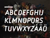 Kärleksdöden typeface