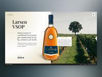 Larsen Cognac Product Page