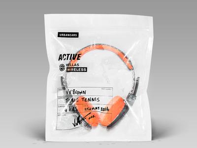 Urbanears: Limited Sweat Edition photoshop urbanears headphones sweat photography bag