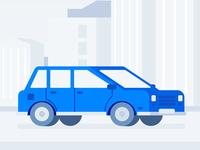 Car & City Scape - Illustration Design System?