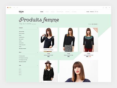 Blune_3/4 - Catalogue colorful product blune design ecommerce art direction webdesign