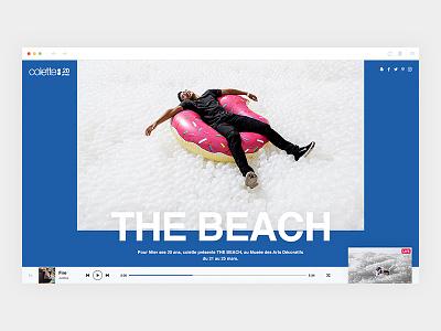 colette20ans_2/4 - Intro colorz colette design webdesign art direction