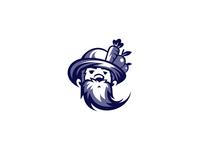 Farmer Man Logo Design