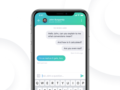 Sales Expert Chat 💬
