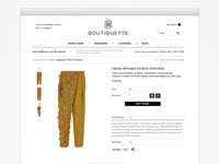 Boutiquette shop product page