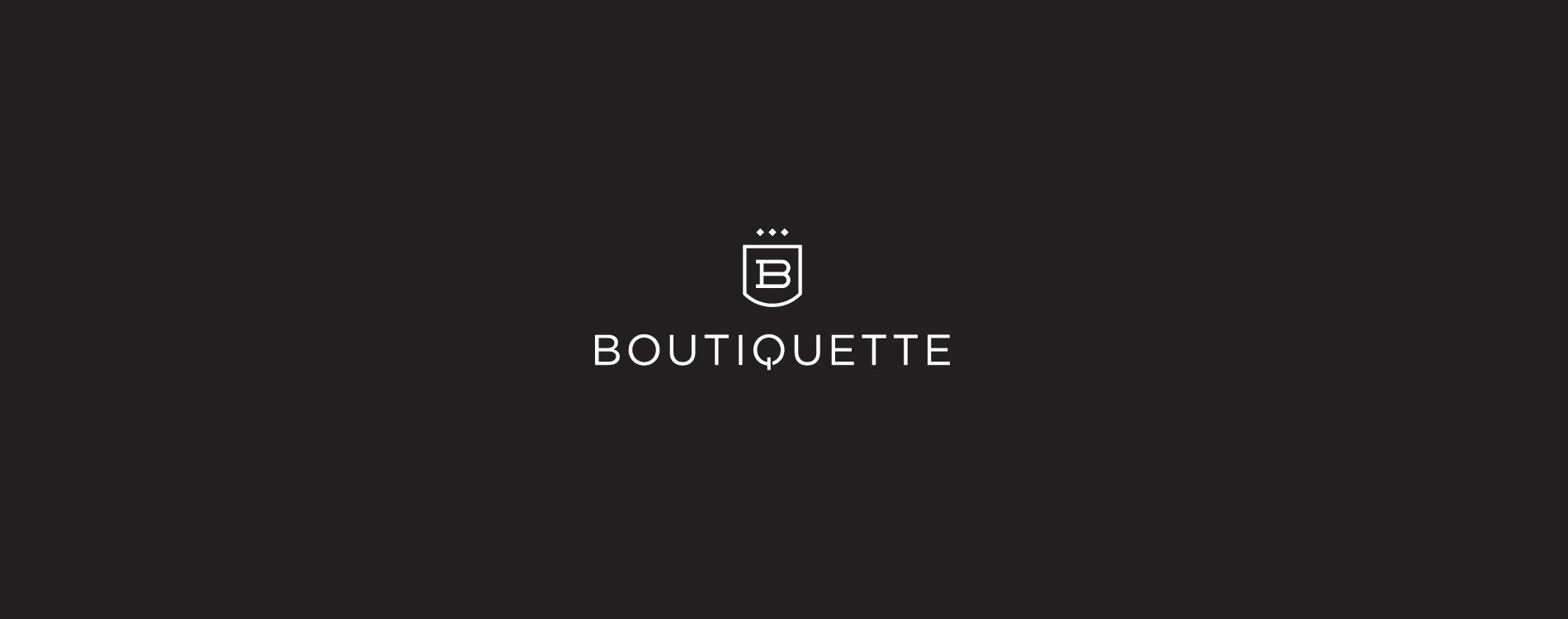 Portfolio boutiquette logo main